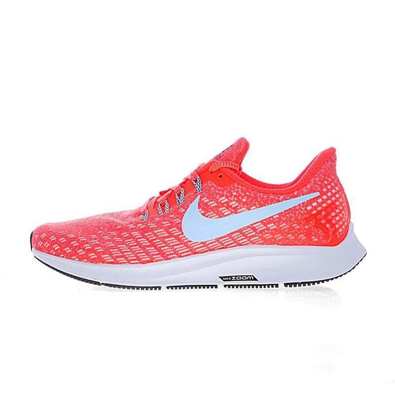 Asli Nike Asli AIR ZOOM PEGASUS 35 Pria Sepatu Olahraga Lari Sepatu Sneaker  Luar Ruangan Olahraga 1ac8adf078