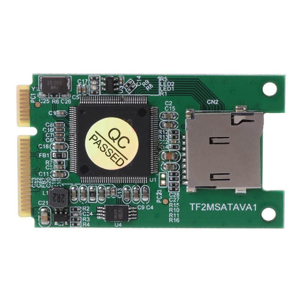 Giá Micro SD TF Thẻ Mini PCI-E MSATA Ổ Cứng SSD Chuyển Đổi Adapter Cho Máy Tính Laptop Phụ Kiện