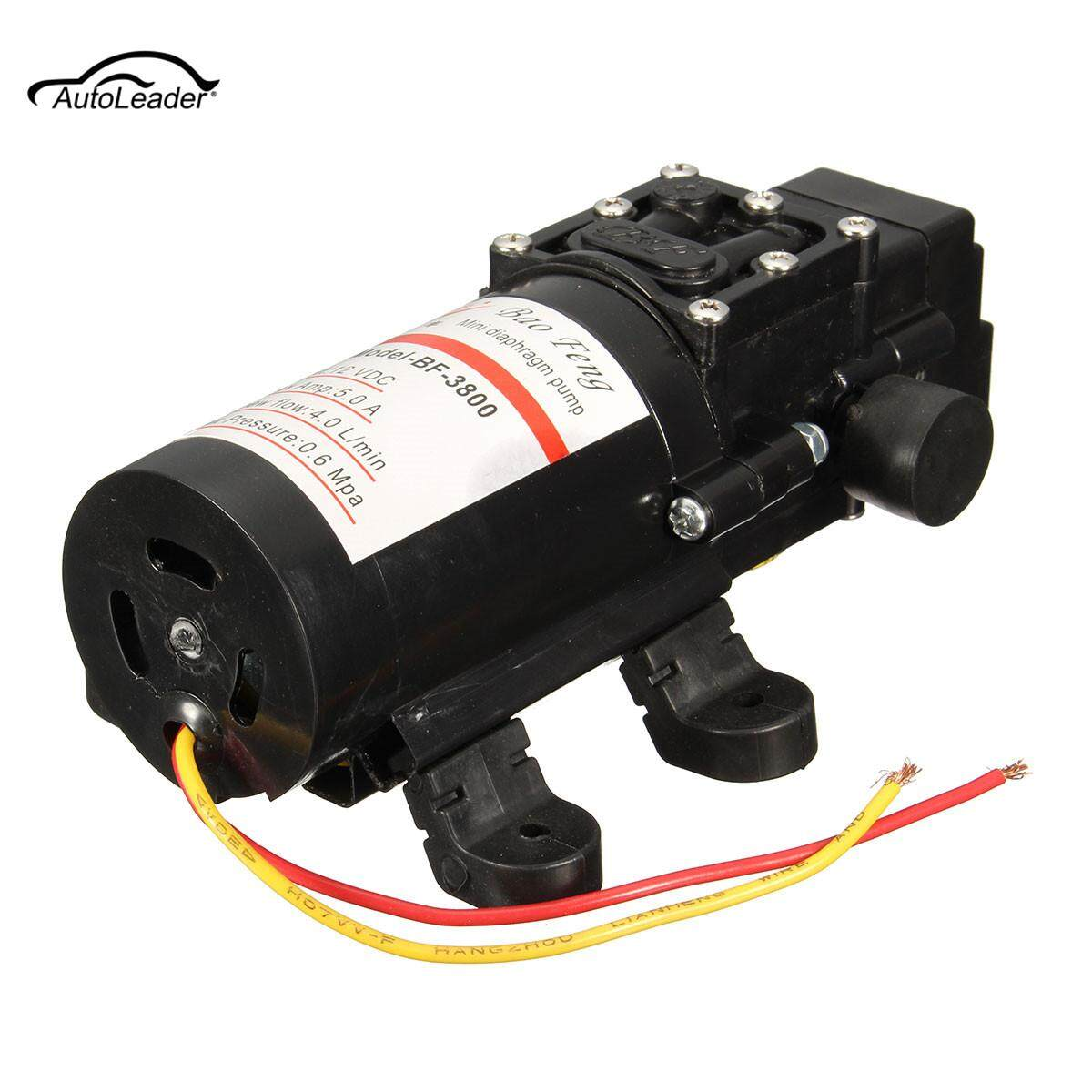 60W BF-3800 OPHIR RV /Marine 12V DC Demand Fresh Water Diaphragm Self  Priming Pump Low Pressure