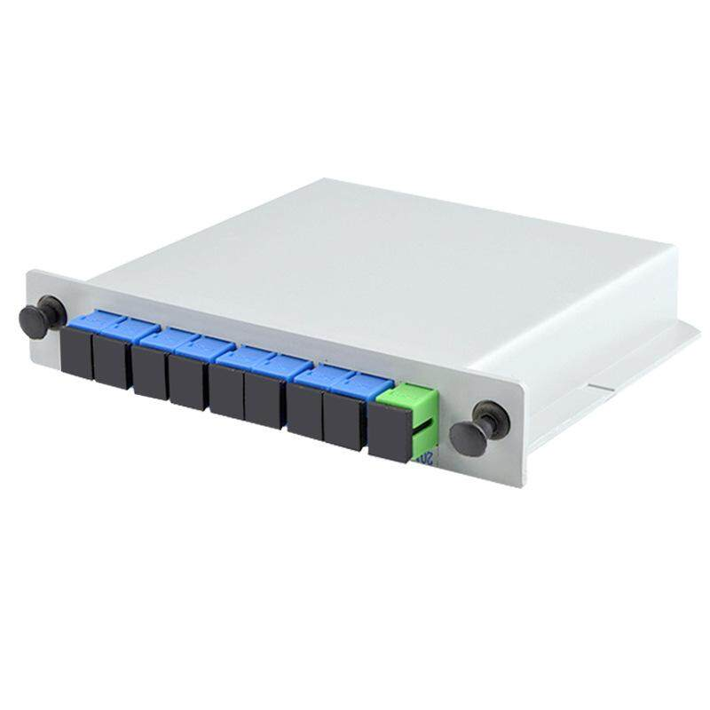 Giá Fiber Optic Plc Splitter 1 x 8 Insertion Outdoor Electrical Splitter / Lgx / Cassette Type Sc/Apc