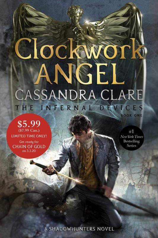 BORDERS Clockwork Angel (1) (The Infernal Devices) by Cassandra Clare  (Author) Malaysia