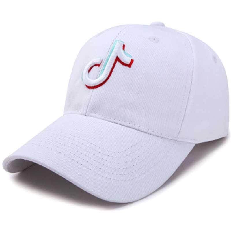 0b9a74ece56 Embroidery Music Note Men Baseball Caps Tik Tok Hip Hop Summer Women Sun  Protection Adjustable Bone