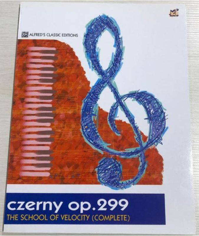 Alfreds Classic Editions Czerny The School of Velocity, Op. 299, Complete Malaysia