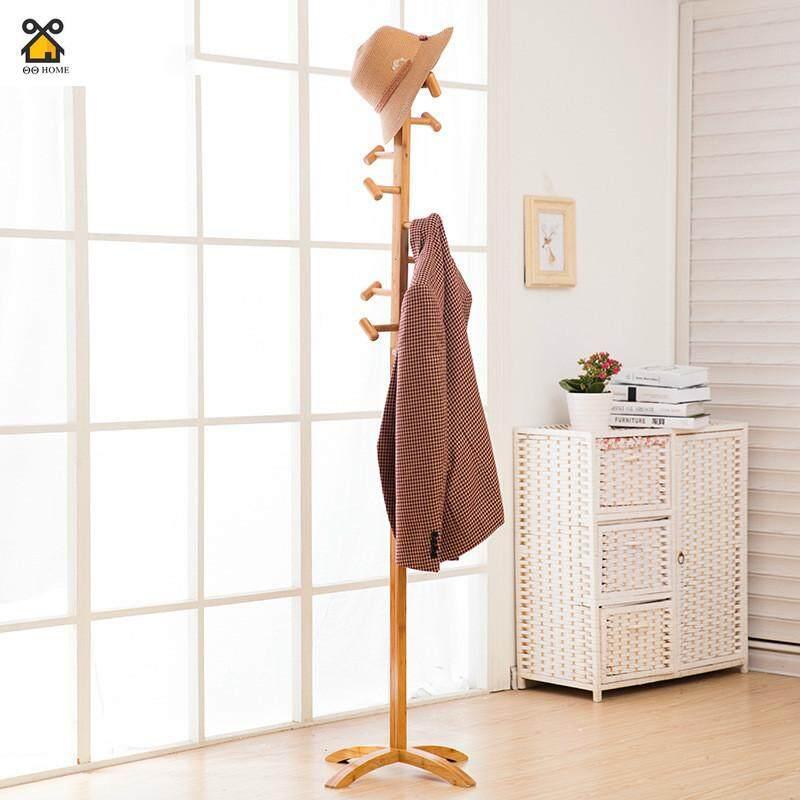 Coat Rack Floor Solid Wood Hanger Simple Hanger Bedroom Clothes Hanging Fashion Clothes Rack