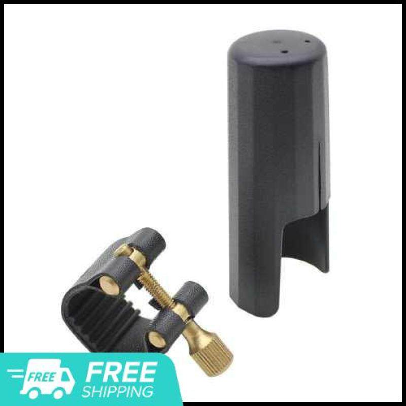 Leather Ligature Fastener with Plastic Cap for Tenor Sax Saxphone Bakelite Mouthpiece (Standard) Malaysia