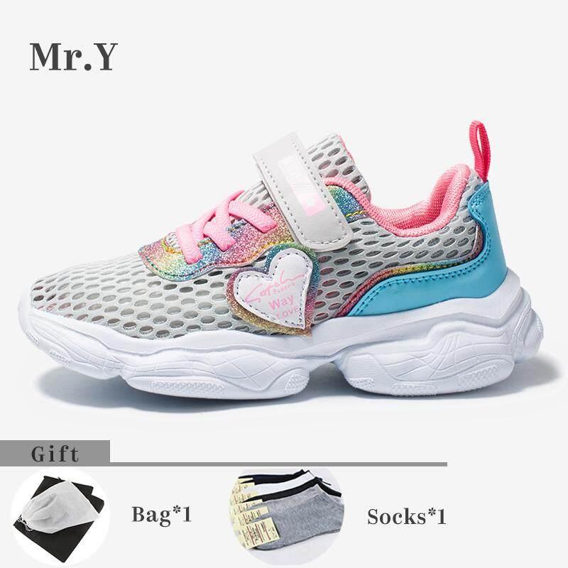 Giá bán Mr. Y. Kích Thước 27-37 Trẻ Em Thể Thao Bé Gái Giày Trẻ Em Chạy Bộ Trẻ Em Giày Giày Công Chúa