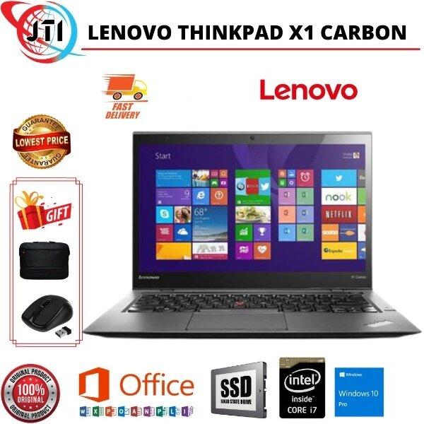 Lenovo ThinkPad X1 Carbon/ Core i7 -4600U -8GB - 256/500 GB SSD -14.0 /WIN 10/ FREE GIFTS Malaysia