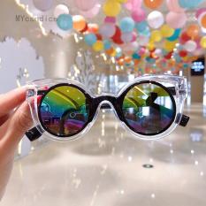Mysndice Retro Vintage Trẻ Em Sunglasses UV400 Thiết Kế Thương Hiệu Của Trẻ Em Kính Mặt Trời Sang Trọng Shades Bé Trai Cô Gái Eyewear