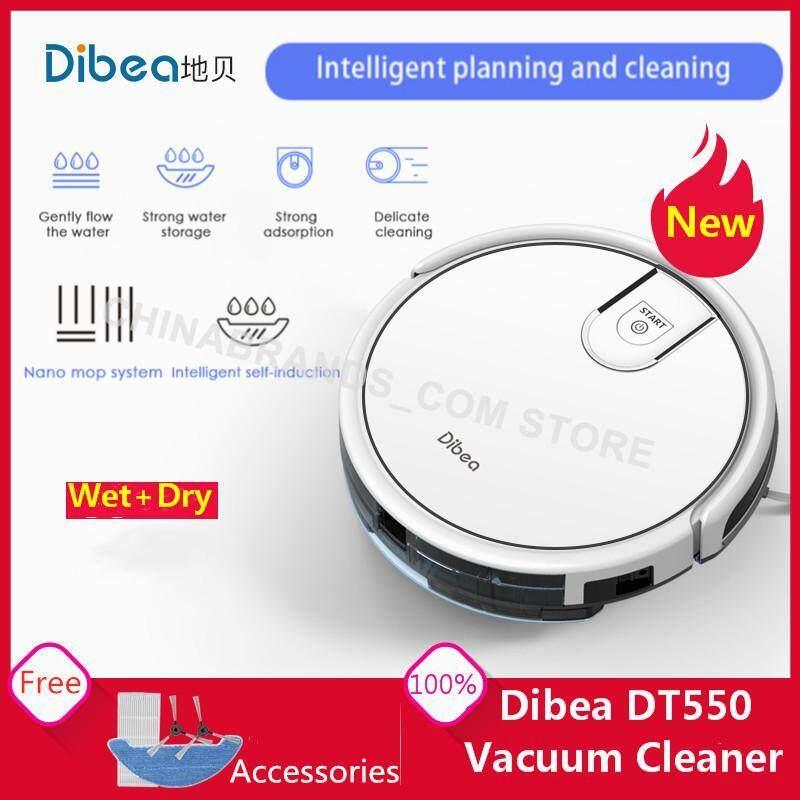 [100% Original+Intelligent self-induction] Dibea DT550 Household Sweeping Machine Robot Vacuum Cleaner Singapore