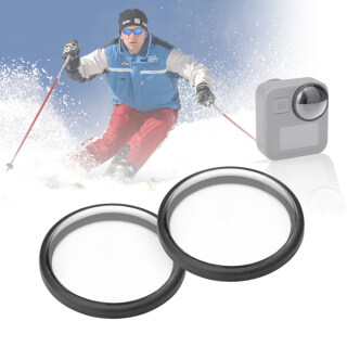 PULUZ 2Pcs Set Acrylic Protective Lens Frame Cover Compatible with Go-Pro Max Anti-oil Anti-Scratch Lens Protector Camera Accessories thumbnail