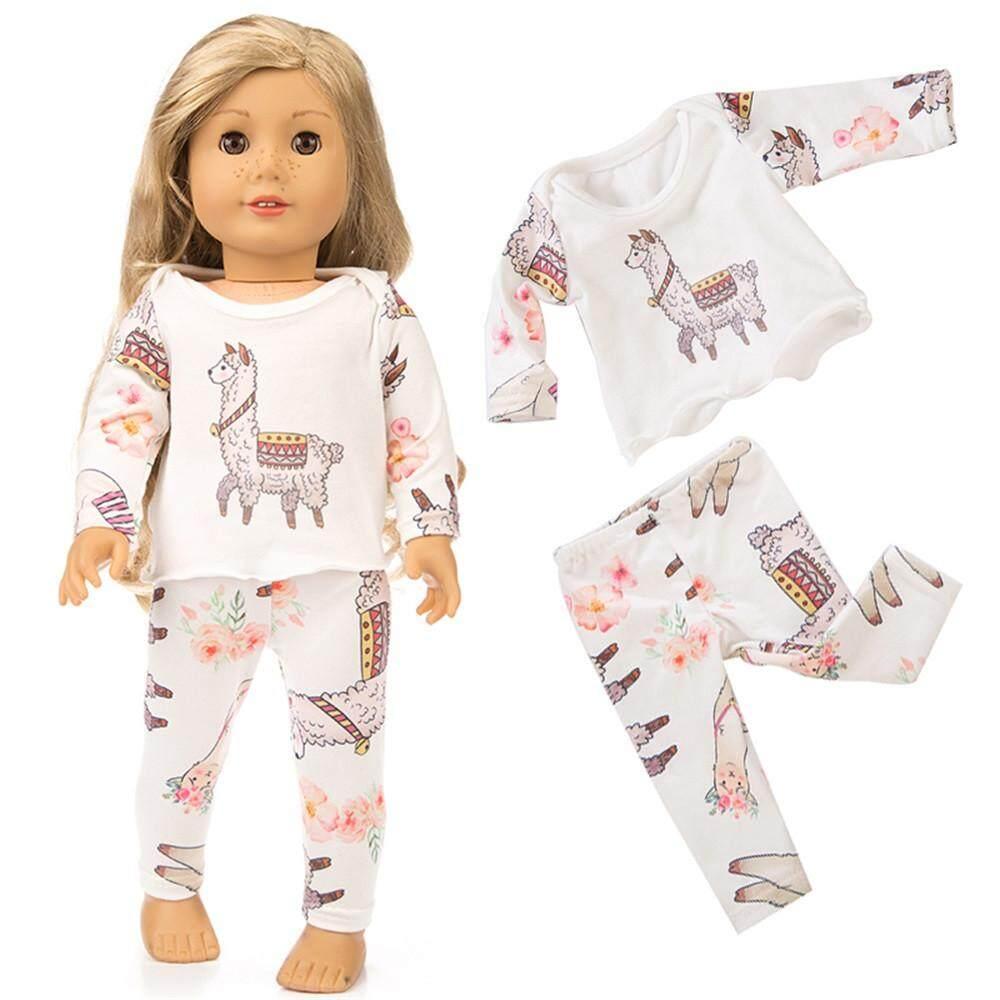 49af4266f7a Cute Sleepwear Pajamas Nightgown For 18 inch Our Generation American Girl  Doll
