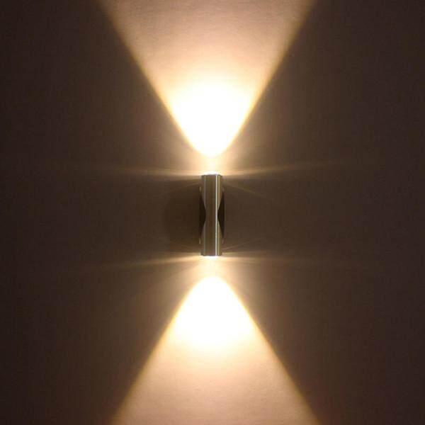 Đèn Led âm tường 2W/6W, đèn tường trong nhà Đèn tường nhôm ngoài trời