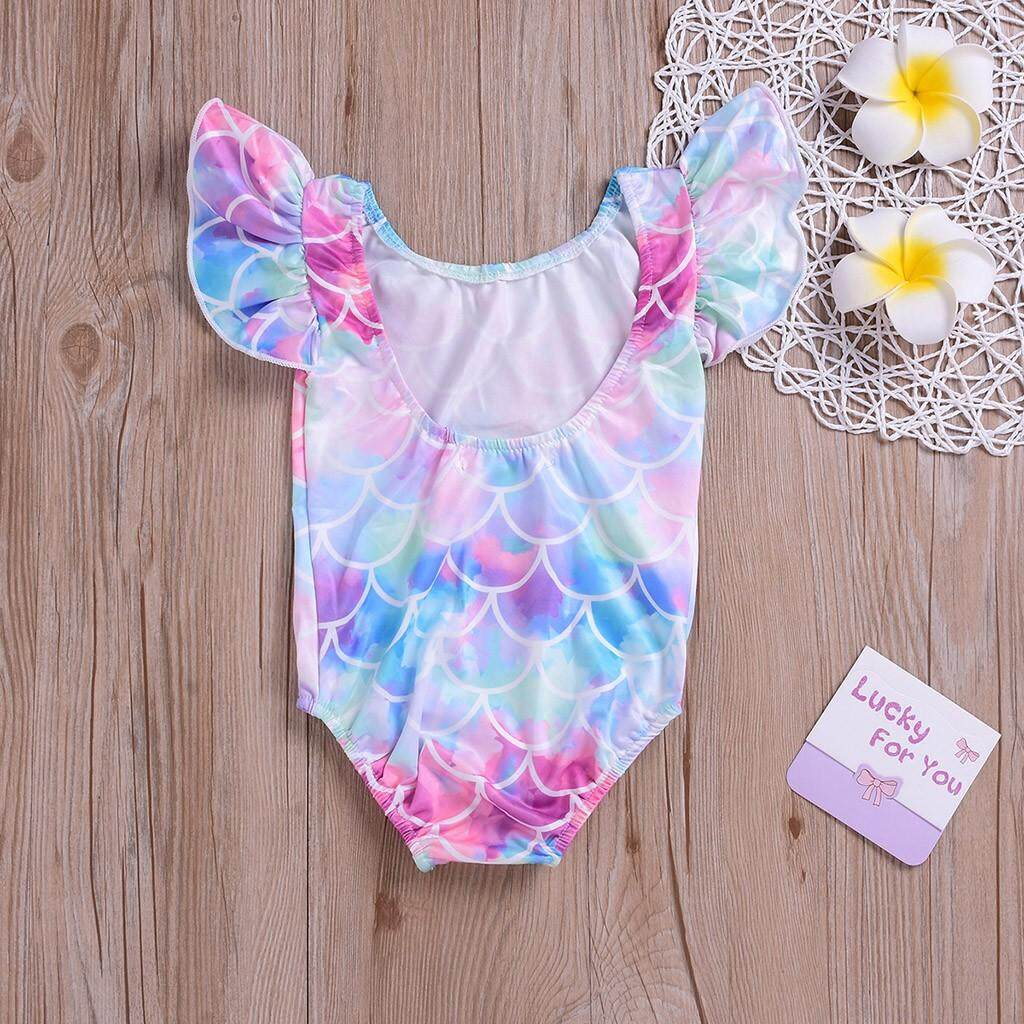 Haomian Hkhk New Cool Kids Baby Girls Bikini Beachwear Beach Swimsuits Bathing Suits By Haomian Hkhk.