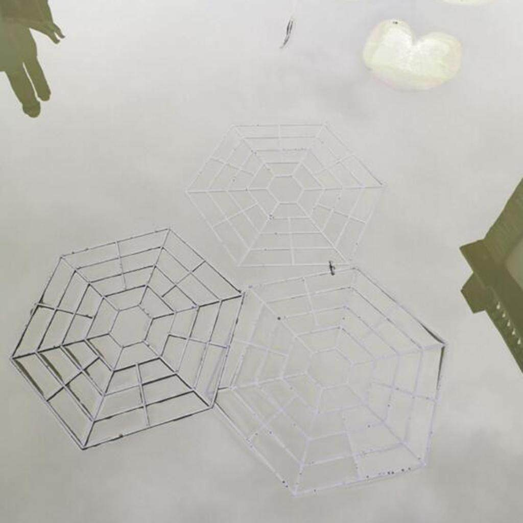BolehDeals 10pcs Set Plastic Net Pond Protector Floating Cover Net Cats Heron Deterrent