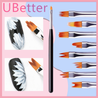 Cọ Vẽ Móng Nghệ Thuật Acrylic UBetter, Sable Gel Bút Vẽ Hoa Sơn Móng Tay UV thumbnail