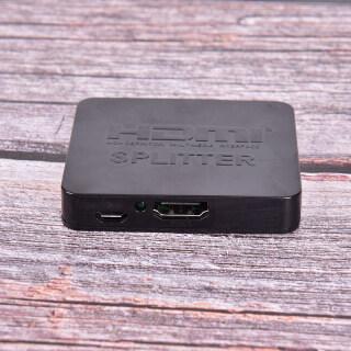 UNI Full HD 4K HDMI Splitter 1X2 2 Ports Repeater Amplifier Hub 3D 1080p 1 In 2 Out thumbnail