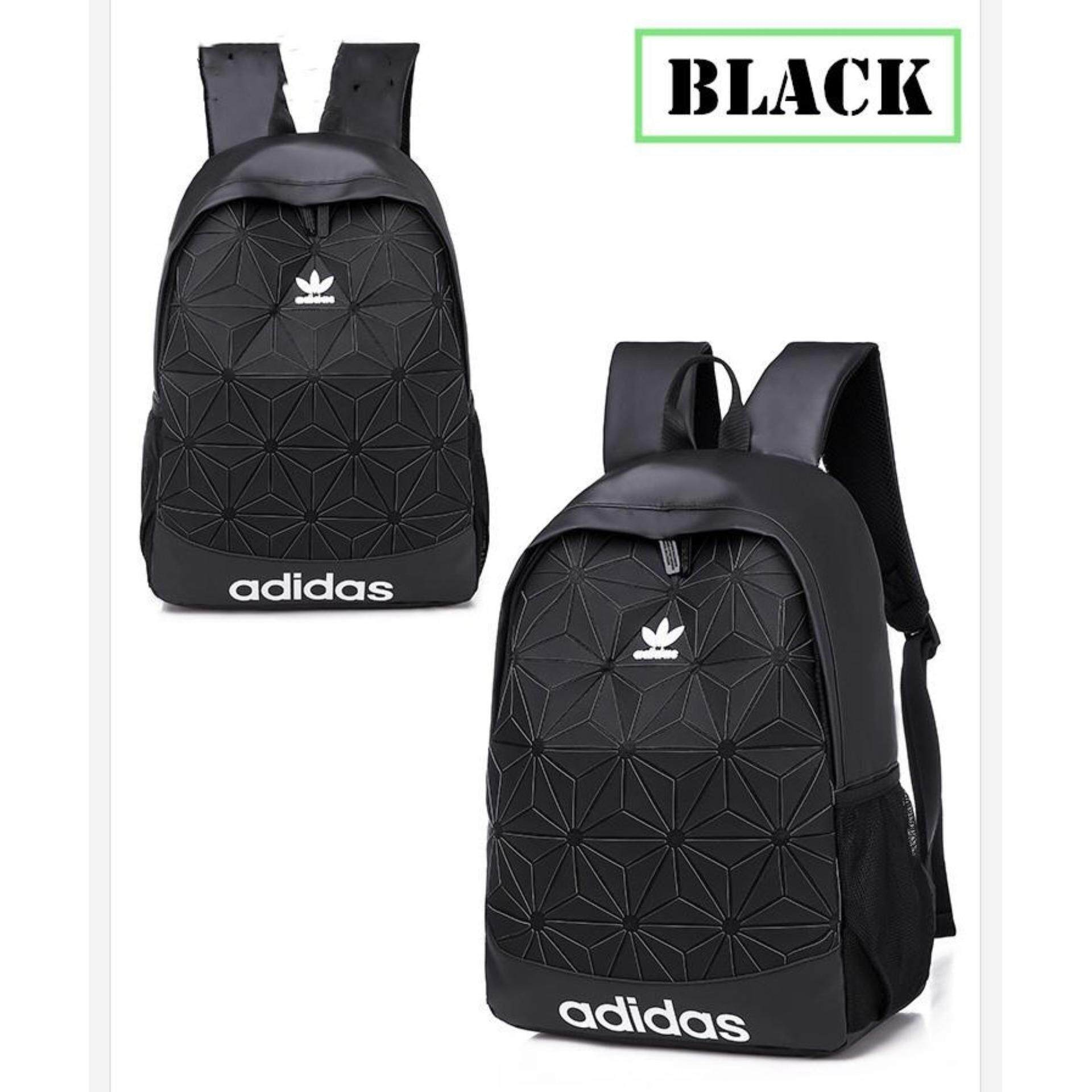 Promotion ! A_di_das Backpack 3D Issey Miyake Laptop Travel Outdoor Bags School Student Bag