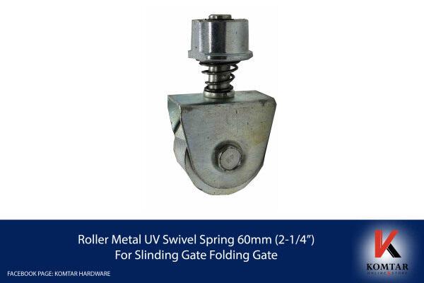 """Roller Metal UV Swivel Spring 60mm (2-1/4"""") For Slinding Gate Folding Gate"""
