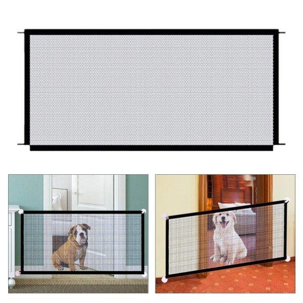 Dành Cho Cửa Ra Vào Cho Thú Cưng Hàng Rào Chó Mèo An Toàn, Dễ Dàng Cài Đặt, Với Phụ Kiện Móc Dính Lưới Nylon Cách Ly Bền Có Thể Gập Lại Phòng Ngủ