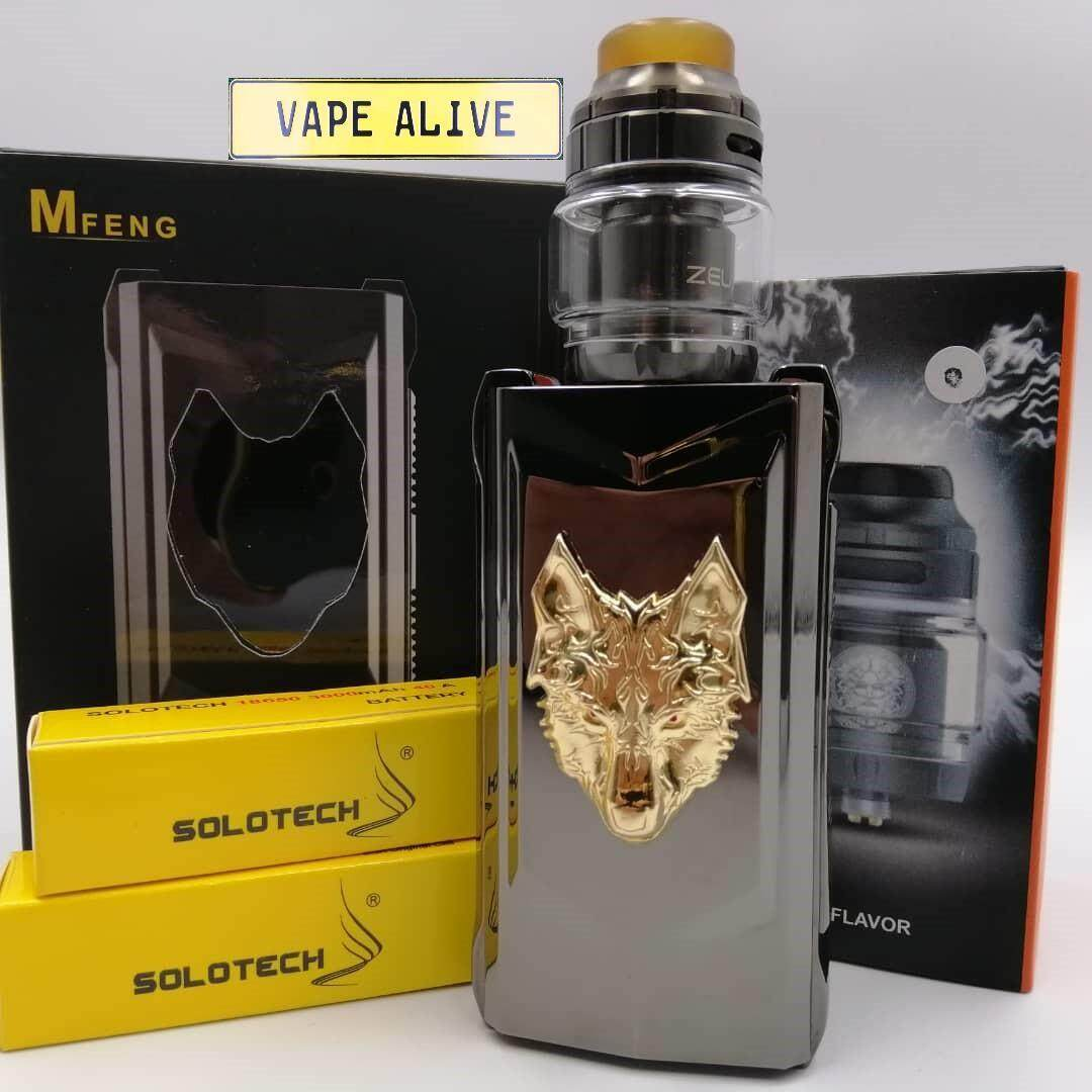 *MFENG COMBO SET* ORIGINAL SNOWWOLF MFENG MOD + TANK + BATTERY Malaysia