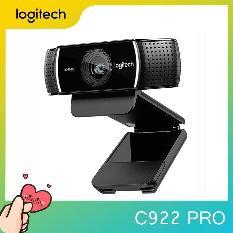 Original LogitechC922 PRO webcam professional streaming media webcam with microphone full HD 1080P video auto focus webcam