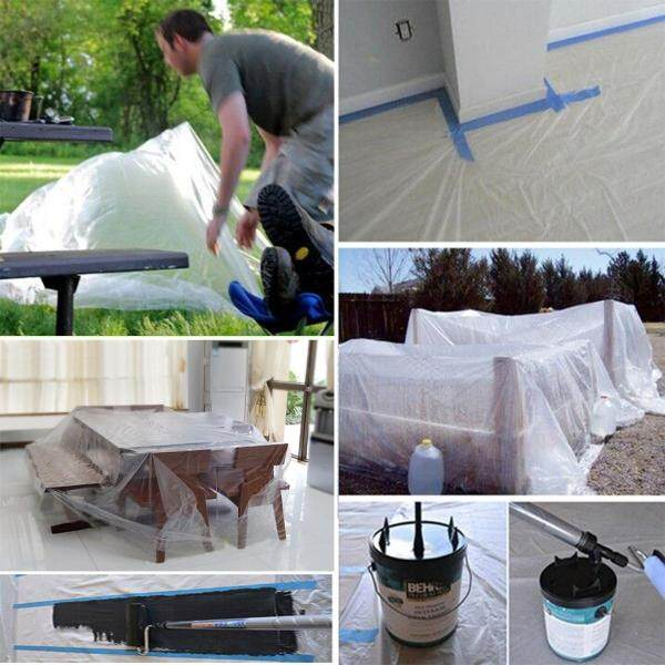 PE drop cloth Decoration paint dust cloth