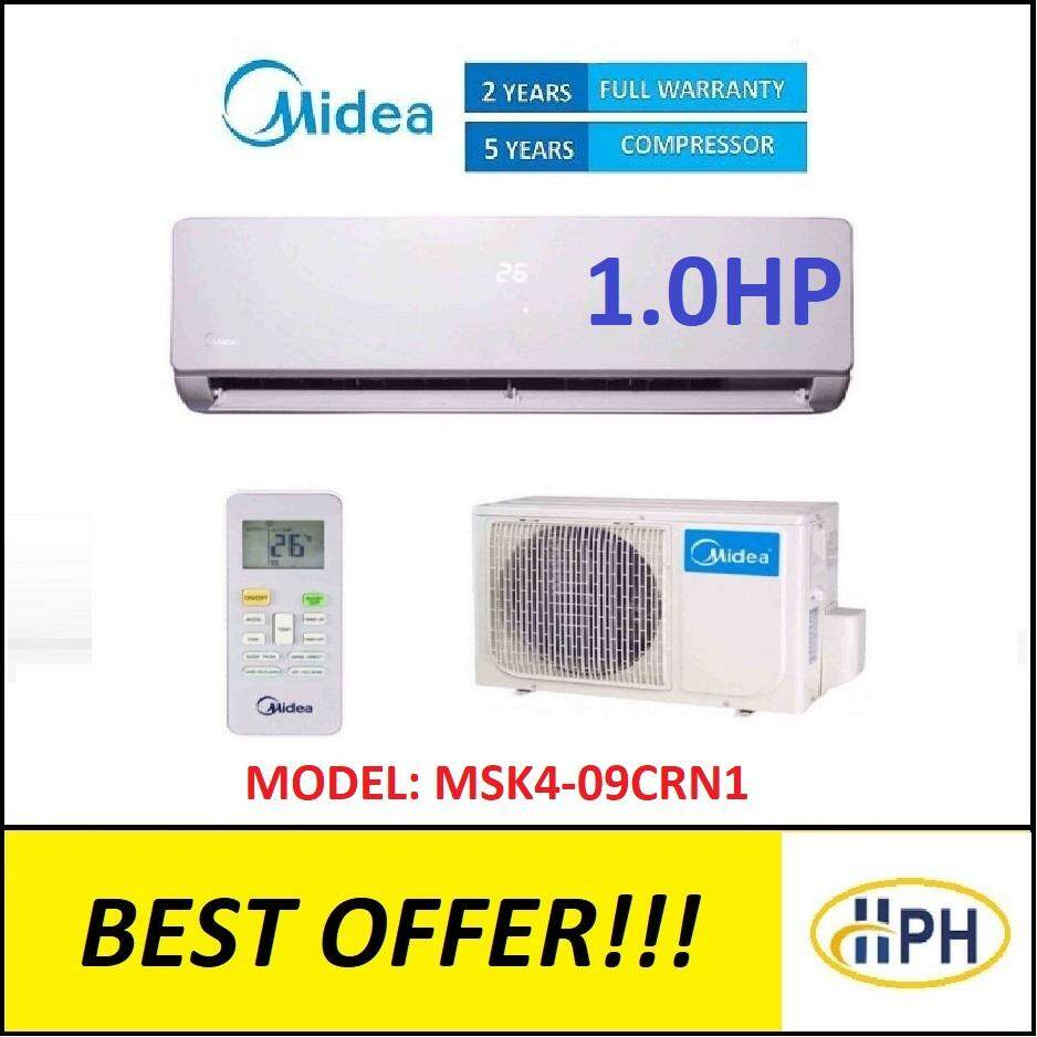 MIDEA 1 0HP AIRCOND MSK4-09CRN1 (R410A) IONIZER AIR CONDITIONER AIR COND