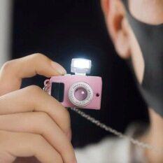 Thiết kế máy ảnh Vòng cổ điểm 3D cho mặt dây chuyền quyến rũ cho trẻ em với Chuỗi vòng cổ được đánh bóng đồ chơi máy ảnh cho quà tặng trẻ em (có thể nhấp nháy và giọng nói)