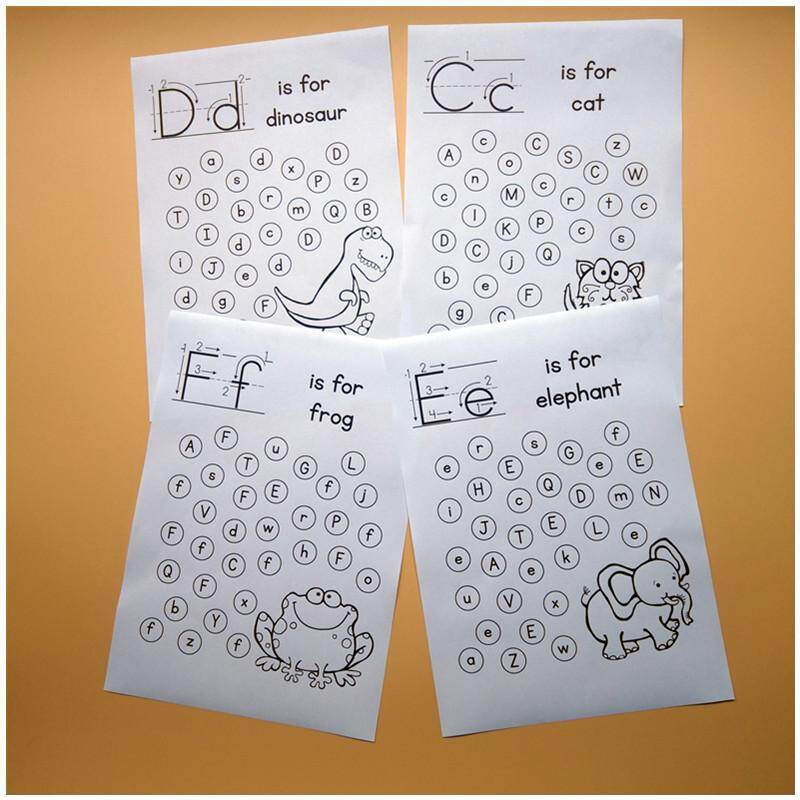 Alphabet Worksheets A-Z Alphabet Letter Practice Handwriting Practice Sheets Children Early Learning Educational Centers Activities Kids Interactive Game By La Chilly.