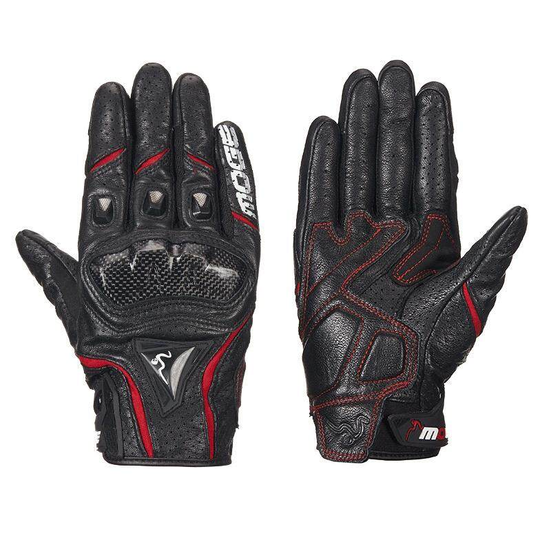 27cf0dd2985a2 Breathable Leather Motorcycle Gloves Racing Gloves Male Motocross Gloves  Touchscreen Protective Gloves