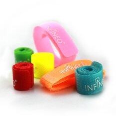 2 Sets - 6 In 1 Cable Ties By Infineo.