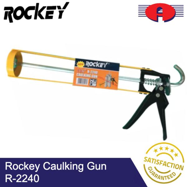 ROCKEY SILICONE CAULKING GUN R2240 R-2240 FOR CARTRIDGE CAULK TOOL PRESSING INJECT SILICONE SEALANT ALAT SILIKON