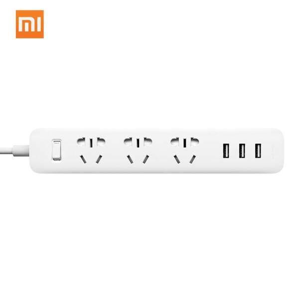 Xiaomi Thông Minh Mi Ổ Cắm Điện Di Động Dải Bộ Chuyển Đổi Phích Cắm Sạc Nhanh 3 USB Ổ Cắm Kéo Dài Cắm 3 Ổ Cắm Tiêu Chuẩn Đa Chức Năng Thiết Bị Điện Tử Gia Dụng 1.8M Chiều Dài Cáp Đầu Cắm Chuẩn Úc