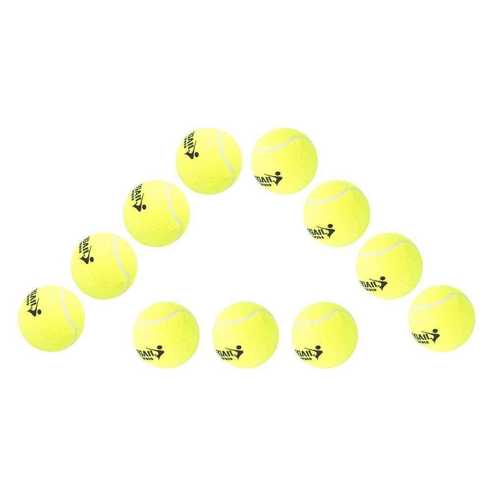 Bảng giá MNYY 12PCS High Elastic Sport Tennis Balls Professional Training Practice Tennis Balls