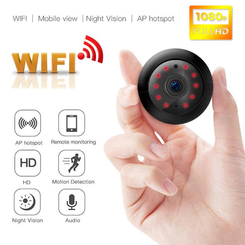 Camera Mini Wifi V380 Camera Quan Sát Cctv Trong/Ngoài Trời Nhìn Đêm An Ninh Hoom Ip 1080P Hd Không Dây Ghi Vòng Lặp Từ Xa Độ Nét Cao Cho Gia Đình Tầm Nhìn Ban Đêm Hd