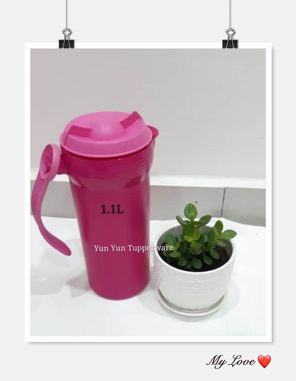 ... FREE SHIPPING TUPPERWARE Twist N Pour 1 1 1L Pink