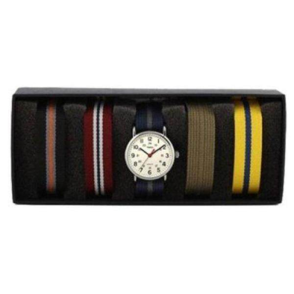 Timex Weekender™ 40mm Oversized - Box Set + 4 Extra NATO Slip-thru Straps Malaysia