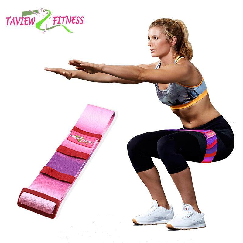 Quality 2019 Fashion Non-slip Strechable Yoga Rubber Belt Band Pull Rope Tension Resistance Band Hip Shaping For Fitness Yoga Tool Excellent In