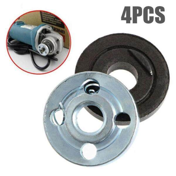 Comforhome 4Pcs/Set Angle Grinder Replacement Part Inner Outer Flange Set Tool Accessoriy