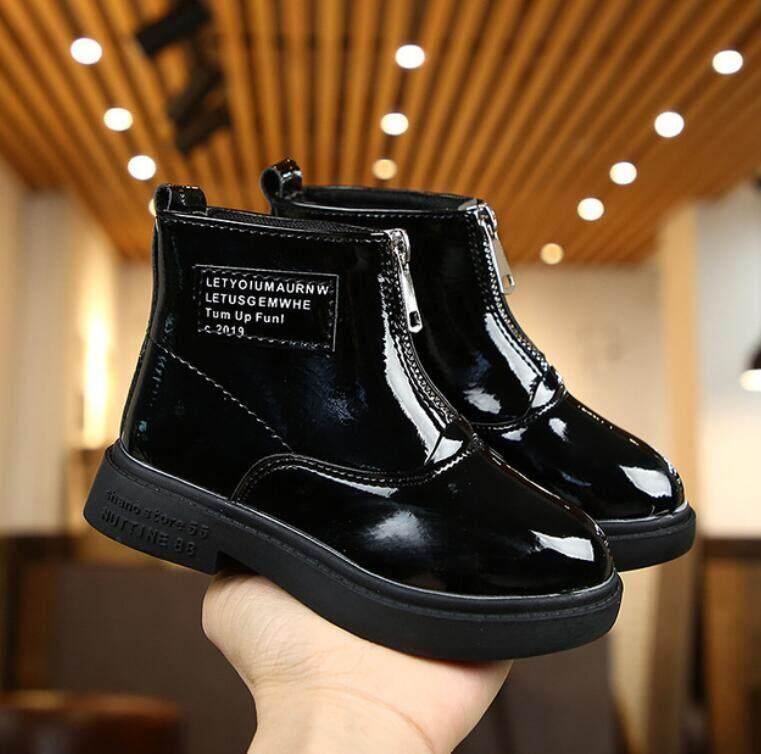 Giá bán Trẻ Em Giày Bốt Martin Unisex Trẻ Em Mắt Cá Chân Giày Bốt Cao Cổ Cho Bé Gái Da Cho Bé Trai Giày Thể Thao Thời Trang Giày Chelsea Boot Không Giới Hạn Mùa