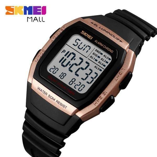 Nơi bán 🚀miễn phí giao hàng🚀 Đồng hồ thể thao nam SKMEI 1278 chống nước 50m có chức năng bấm giờ/báo thức