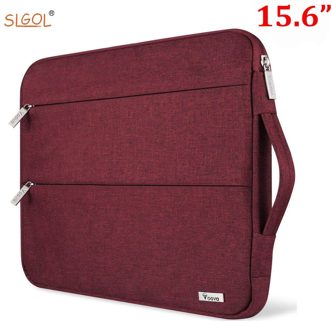 d0ae918a58a5 15.6 14 15 inch Laptop Sleeve Case with Handle Waterproof Protective  Compatible with Mac Book Pro ect with Pocket by SLGOL-direct