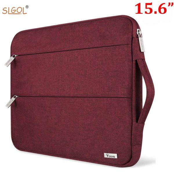 15.6 14 15 inch Laptop Sleeve Case with Handle Waterproof Protective Compatible  with  Mac Book Pro ect  with Pocket by SLGOL-direct