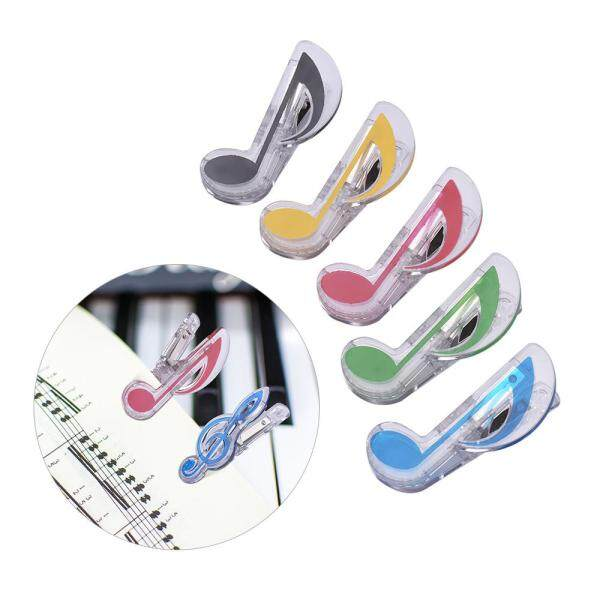 5 Pack Music Clip Piano Book Page Clip Eighth Note Clips Eighth Note Malaysia