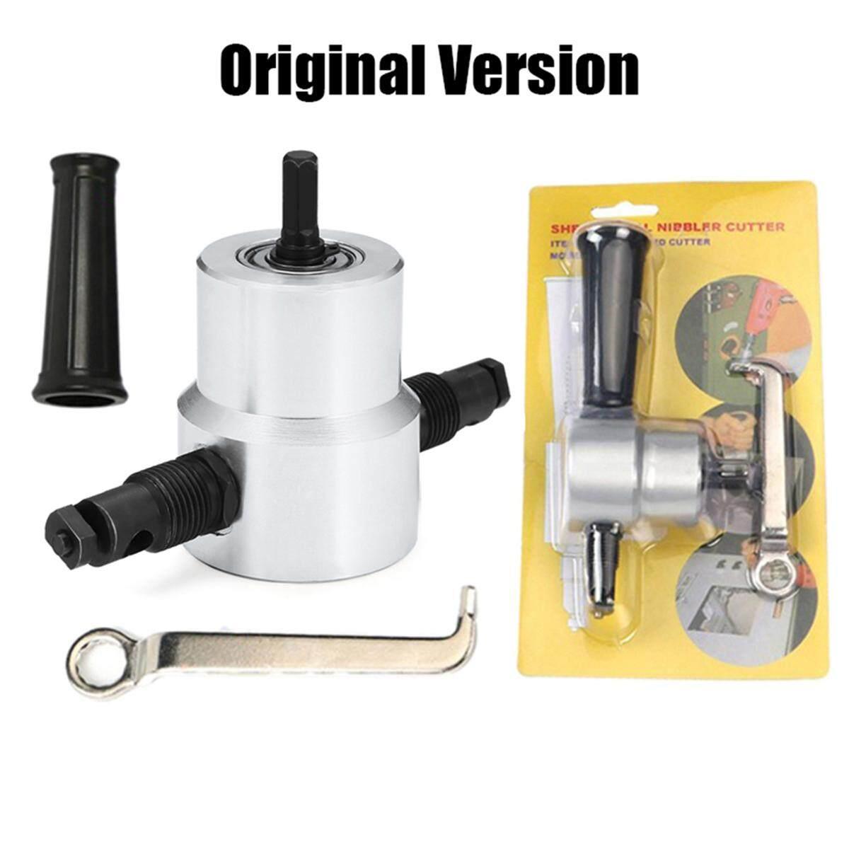 Jiuch Quick Cutter! Double-Head Metal Plate Cutting Head Attachment Free Cutting Tool Board For Cutting Iron Steel Bite Metal Cutting Machine
