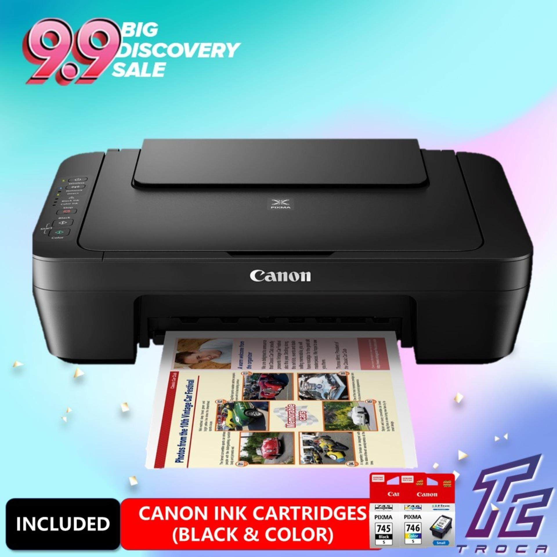 Canon Pixma MG3070S Low Cost Cartridges All-In-One Low Cost Home Use Colour  Printer Wireless Printer (Print/Scan/Copy)