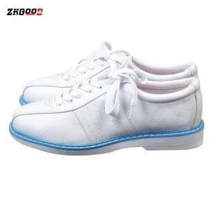 Zkgood Trắng Nơ Shoes Cho Nam Nữ Unisex Thể Thao Người Mới Bắt Đầu Chơi Bowling Mềm thumbnail