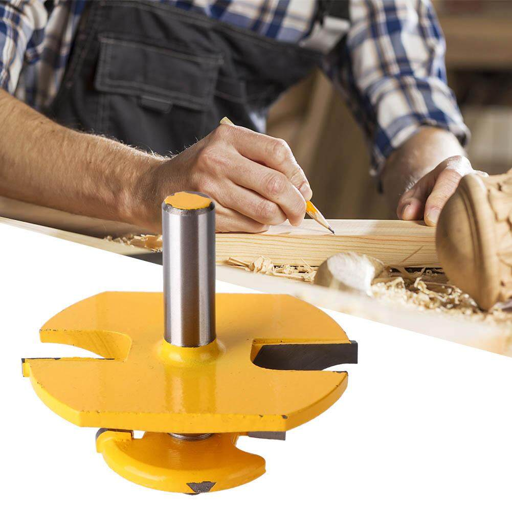 (Qianmei+Ready Stock)3-1/4  Ogee Raised Panel with Backcutter Router Bit 1/2  Shank for Cabinet Door