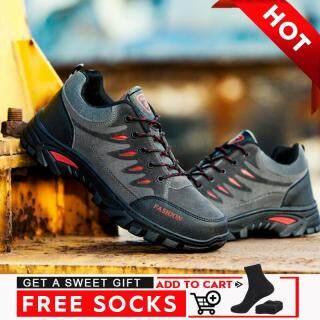 Giày thể thao nam chống trượt chống mài mòn thoáng khí không thấm nước phù hợp để đi bộ đường dài - INTL thumbnail