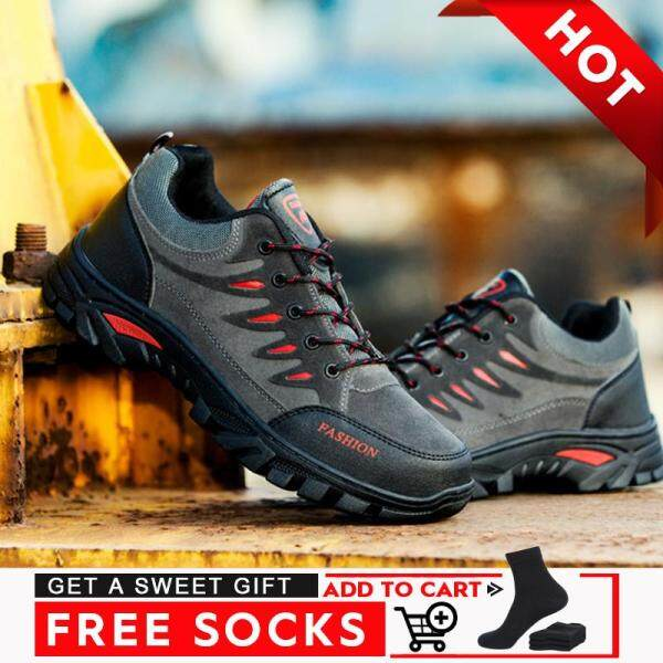 Giày thể thao nam chống trượt chống mài mòn thoáng khí không thấm nước phù hợp để đi bộ đường dài - INTL